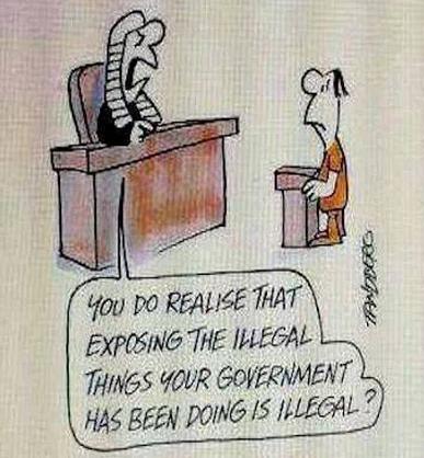 Exposing Illegality Is Illegal