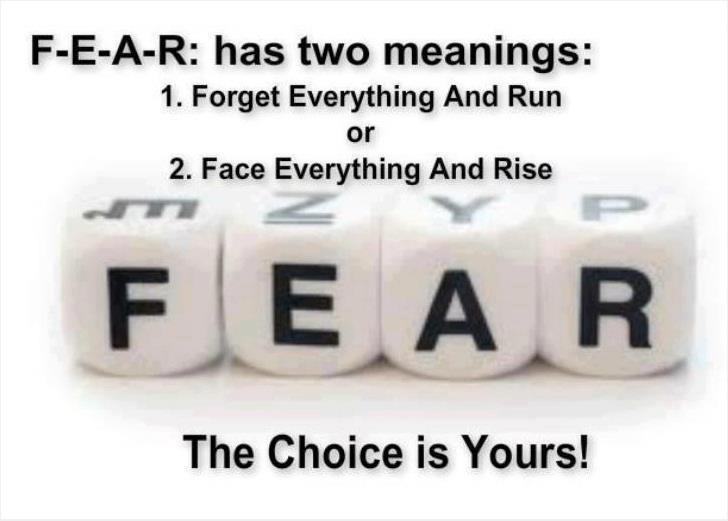 Fear Has Three Meanings