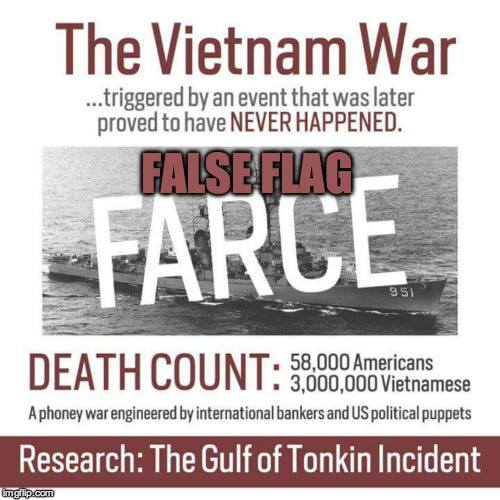 False Flag Started Vietnam