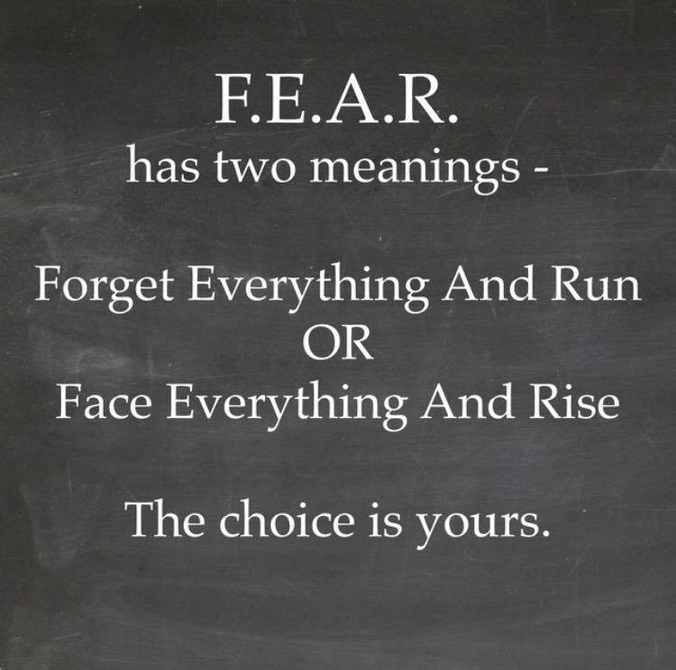 Fear Has 2 Meanings