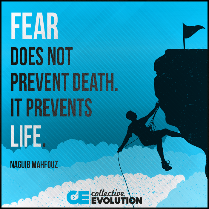 Fear Prevents Life