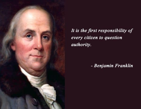 First Responsibility Of A Citizen