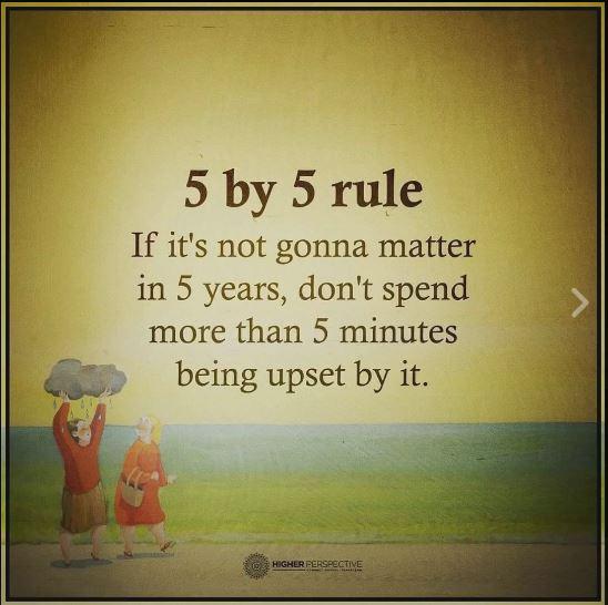 Five By Five Rule