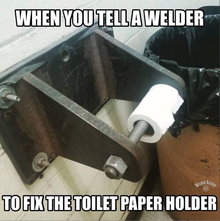 Fix The Toilet Roll Holder