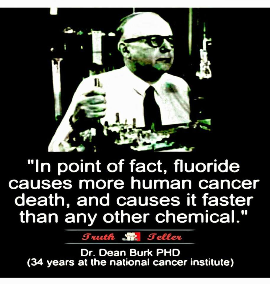 Fluoridated Water Is Public Murder On A Grand Scale - Dr. Dean Burk