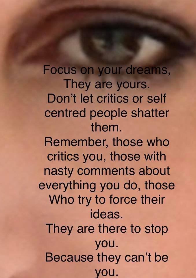 Focus On Your Dream