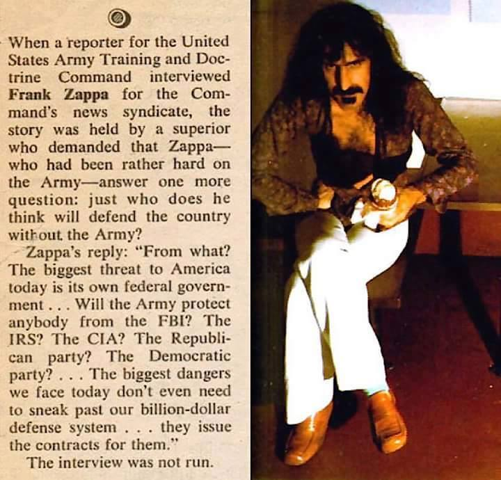 Frank Zappa Interview