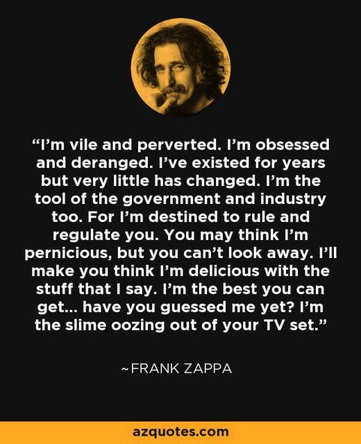 Wisdom From Frank Zappa`