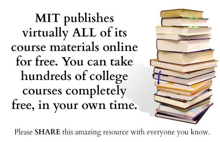 Free MIT Courses Online