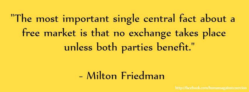 Free Markets Help Prevent Tyranny