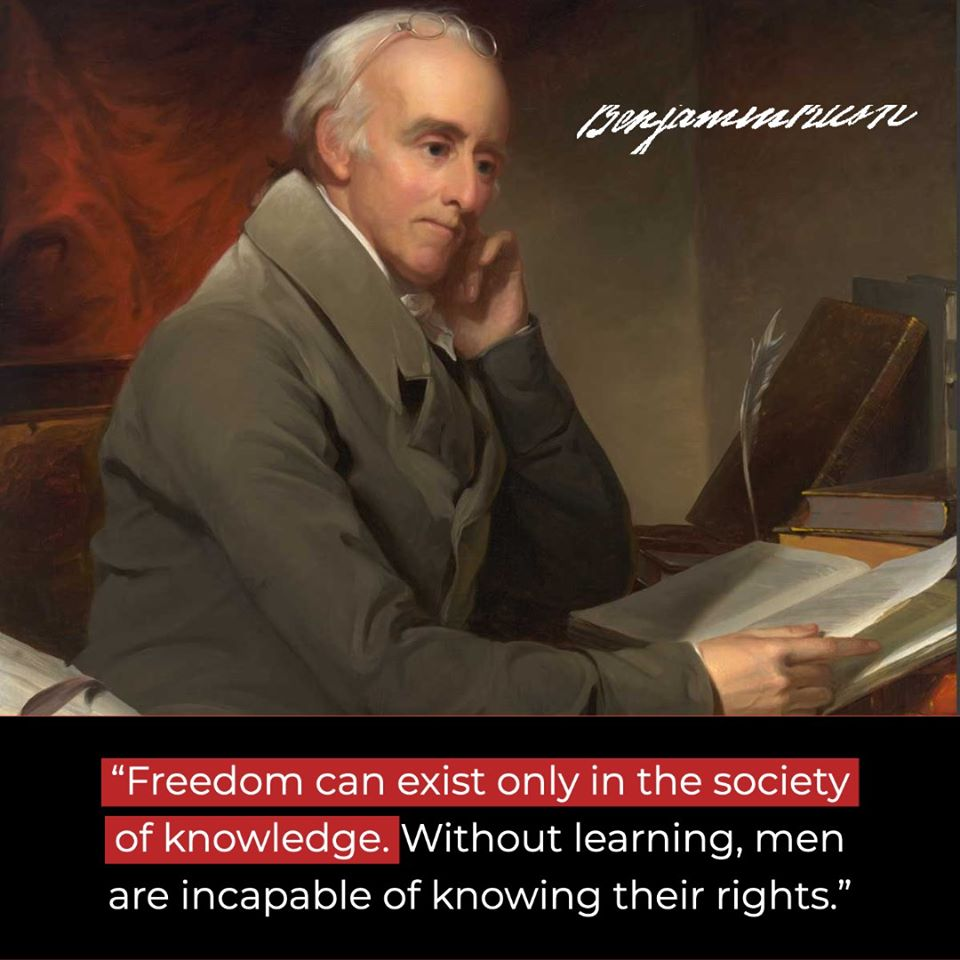 Freedom Can Only Exist With Knowledge