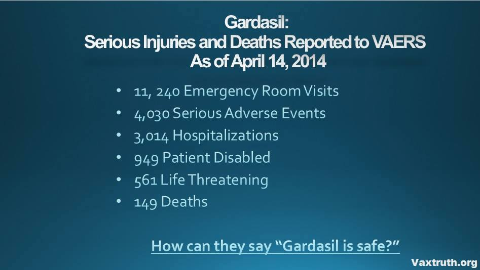 Gardisil Is Safe - Not
