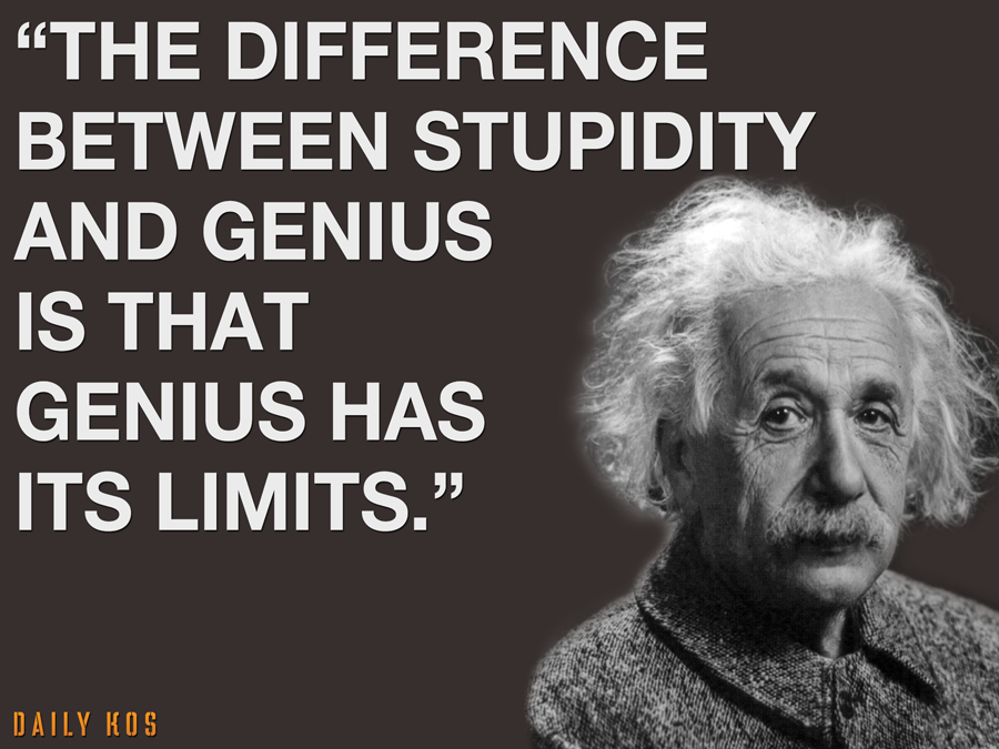 Genius Has Limits