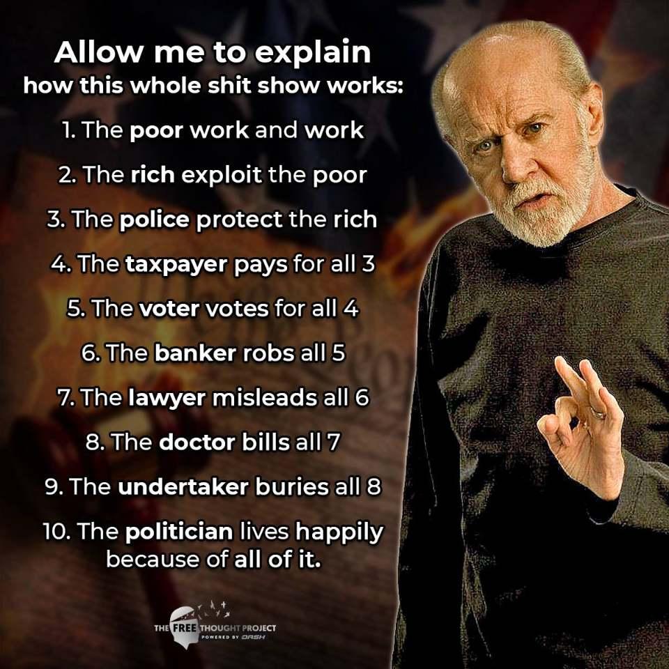 George Carlin 10 Truths