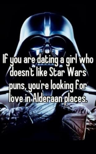 If You're Dating a Girl Who Does Not Like Star Wars