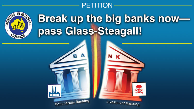 Glass-Stegall Petition