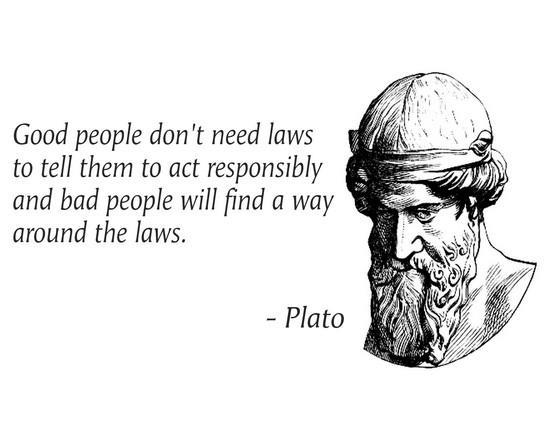Good People Don't Need Laws