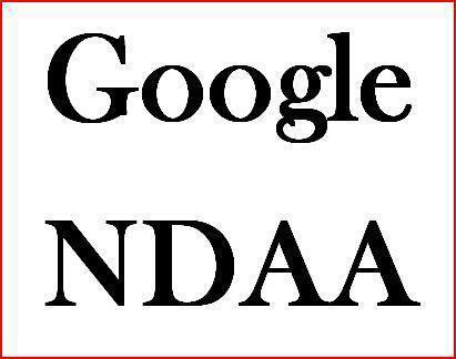 Google NDAA