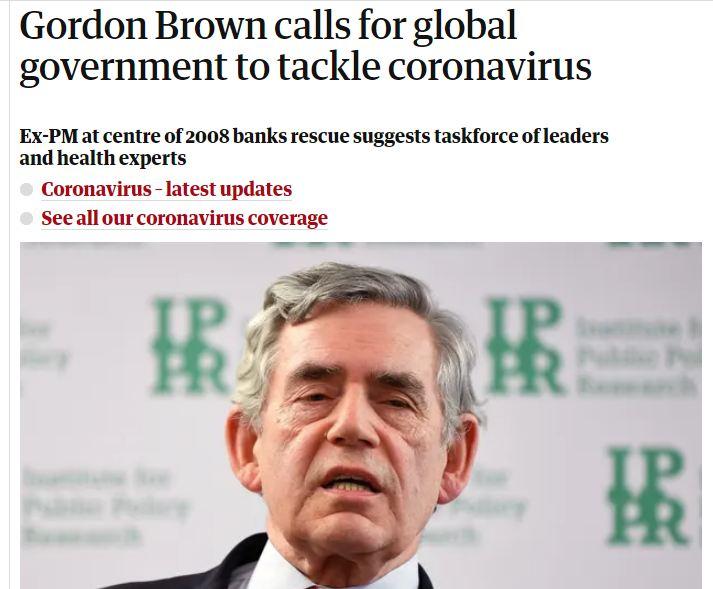 Goirdon Brown