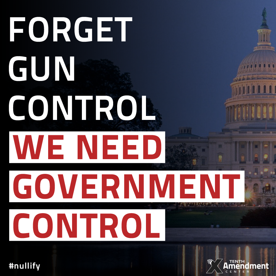 Forget Gun Control We Need Government Control