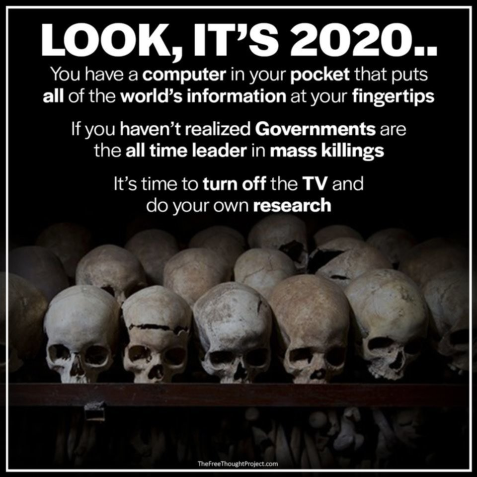 Governments Are Biggest Mass Killer