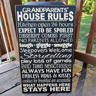 Grand Parent House Rules