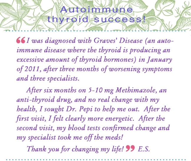 Graves' Disease Success from Dr Pepi