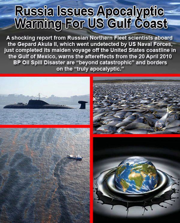 Russia Issues Apocalyptic Gulf Coast Warning