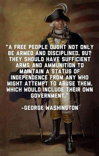 Guns - George Washington