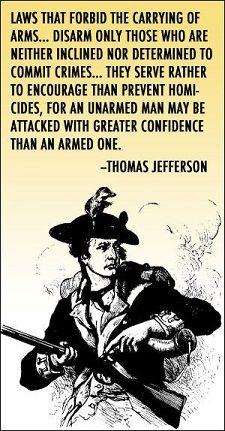 Guns - Thomas Jefferson