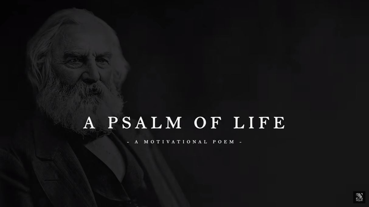 Henry Wadsworth Longfellow A Psalm Of Life