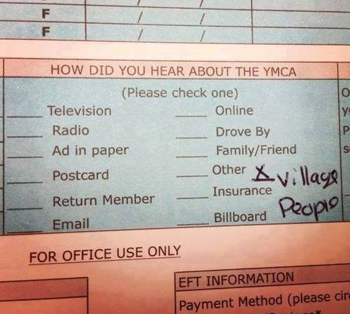 How Did You Hear About The YMCA