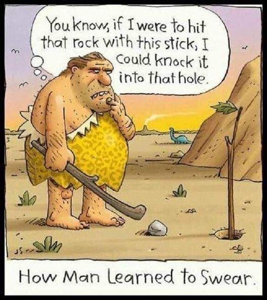 How Man Learned To Swear