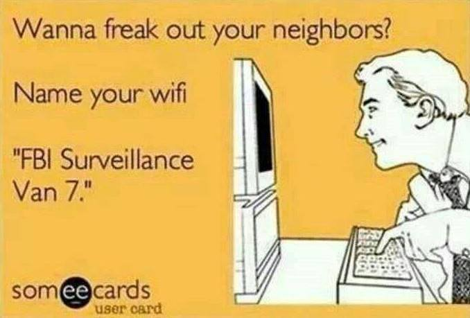How To Freak Out Your Neighbours