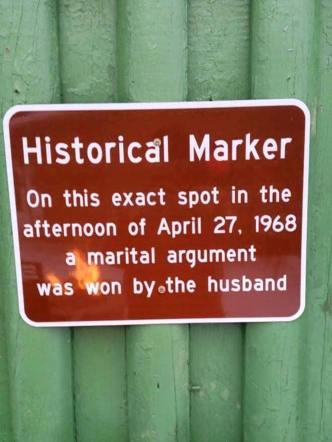 Husband Won Argument
