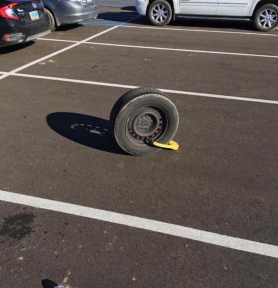 I Left My Tyre