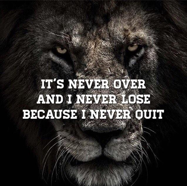 I Never Quit
