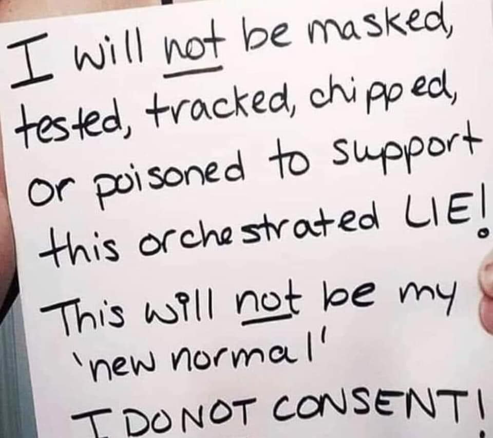 I Do Not Consent