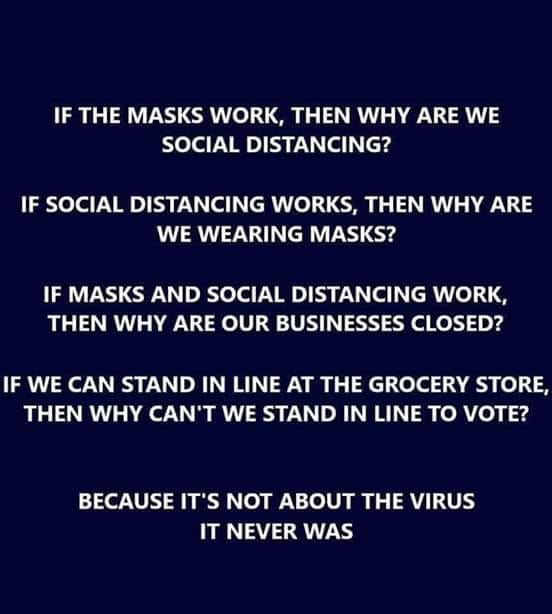 If Masks Work...