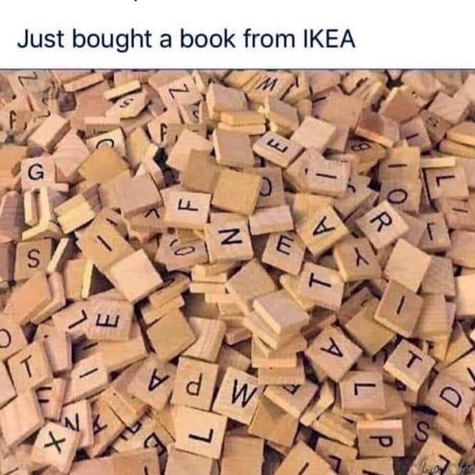 I Just Bought A  Book From Ikea