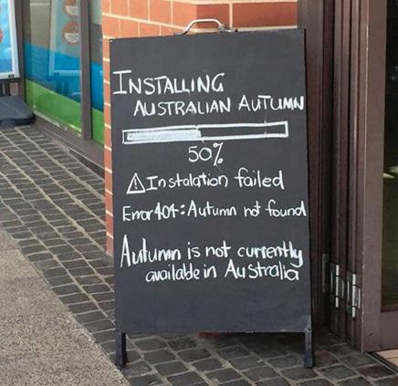 Installing Australian Autumn
