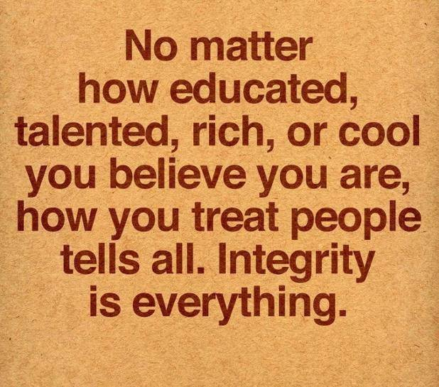 Integrity Is All