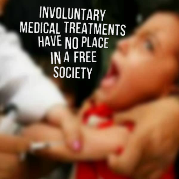 Involuntary Medical Treatment Has No Place In A Free Society