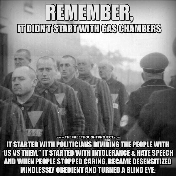 It Did Not Start With Gas Chambers