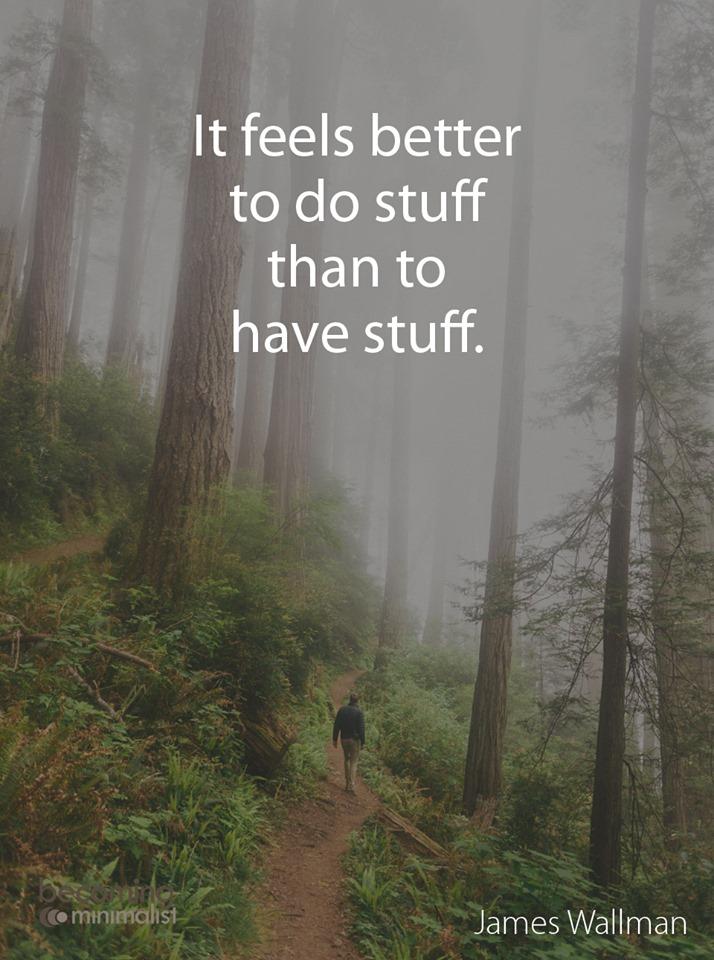 It Feels Better To Do Stuff