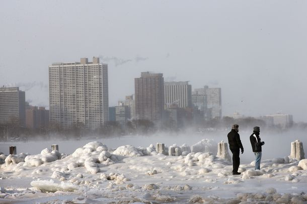 Lake Michigan Ice-Age
