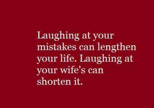 Laughing At Your Mistakes