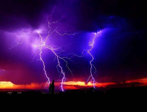 Lightening Strikes