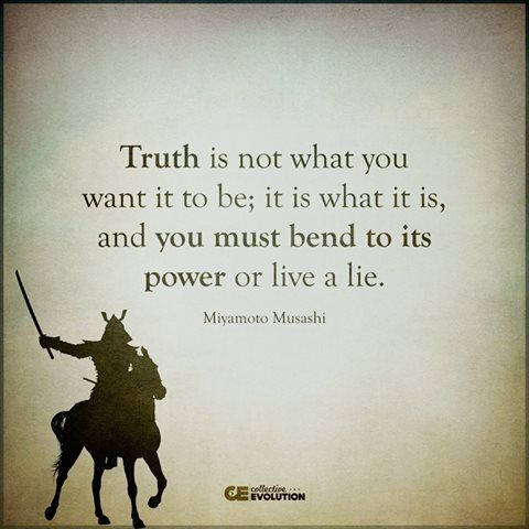Live In Truth Or Live A Lie