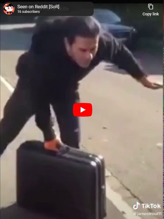 Luggage Handling Mime